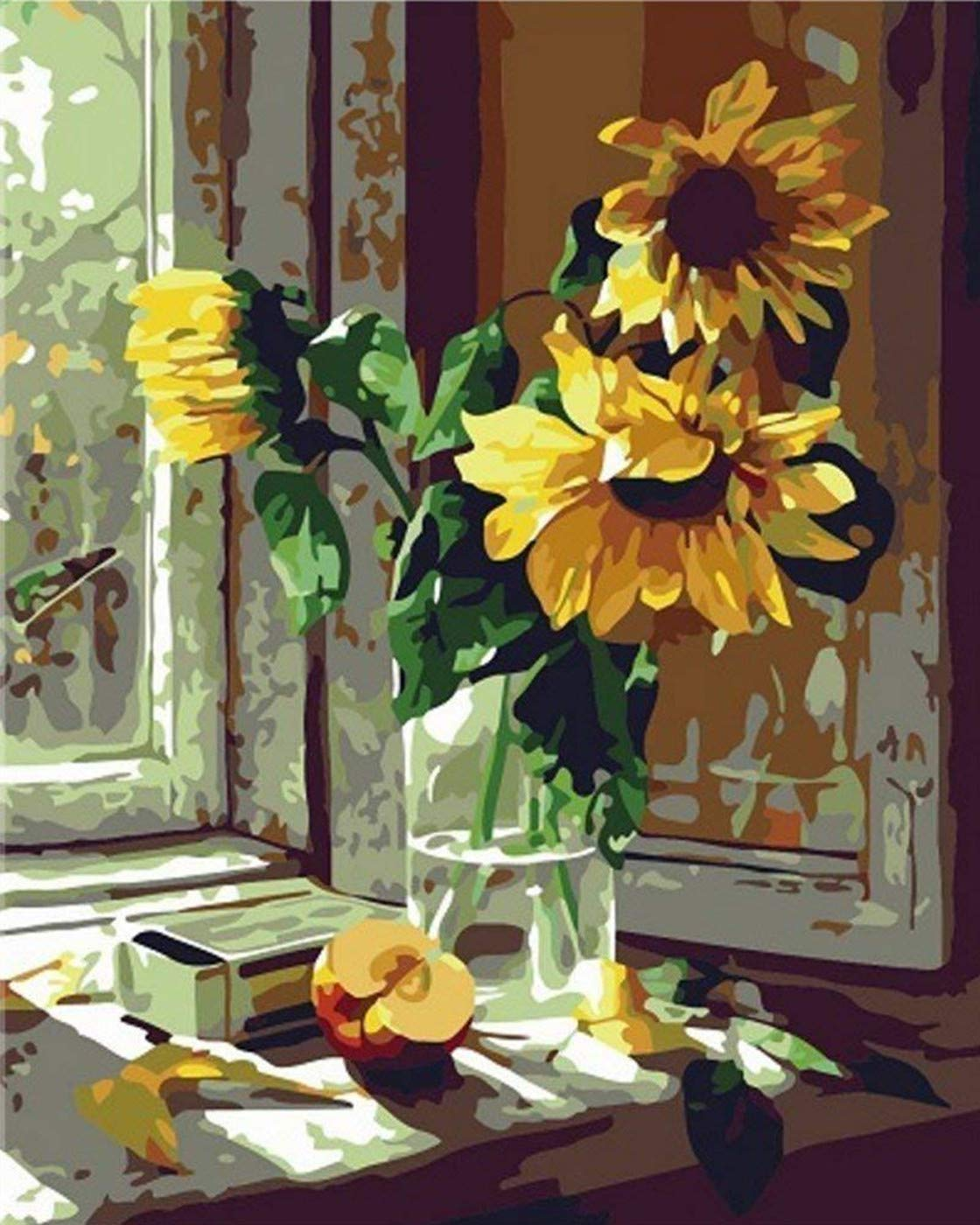 Window Sill Sunflower